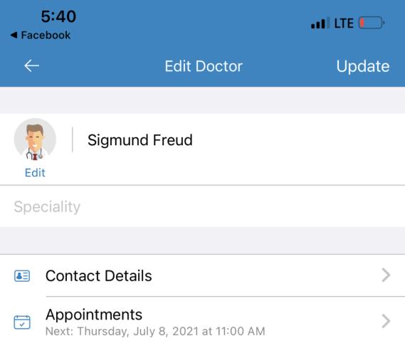 Medisafe-Reminder for doctor appointment