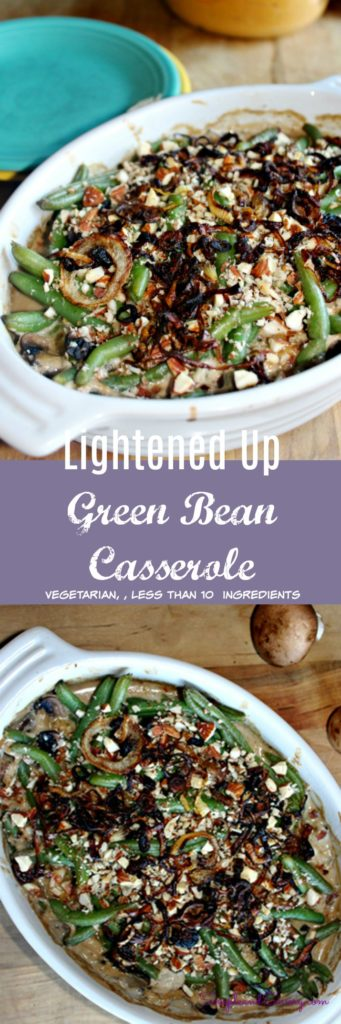 green bean casserole vegetarian low carb