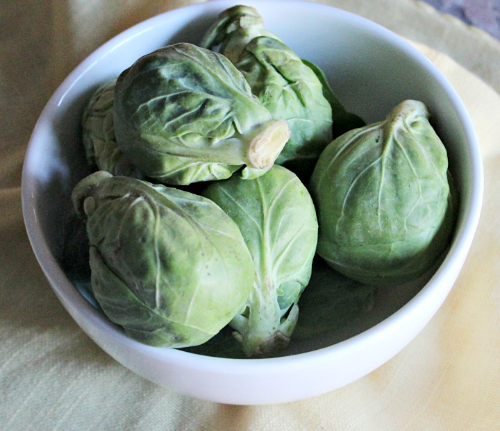 Brussels sprouts Simple and Savory