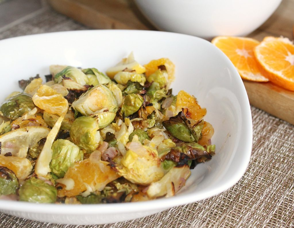 Citrus Roasted Brussels Sprouts Simpleandsavory
