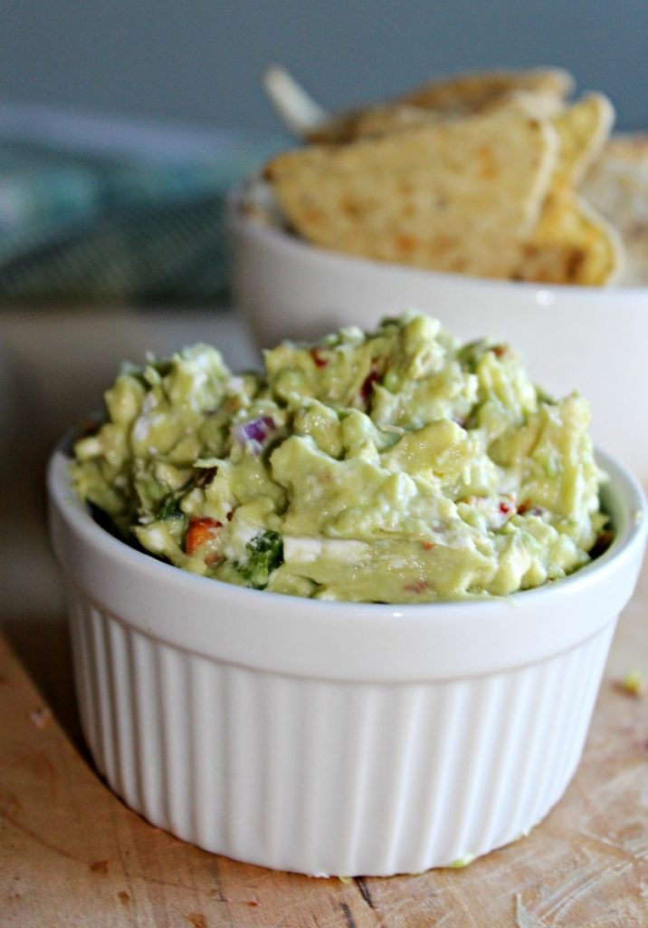 Goat Cheese Guacamole Simple and Savory.com