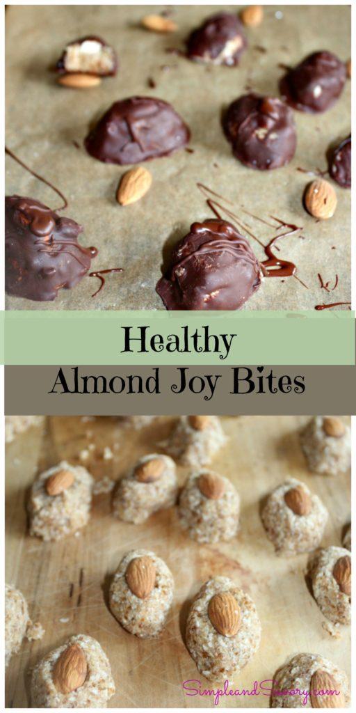 Healthy almond joy bites recipe gluten free