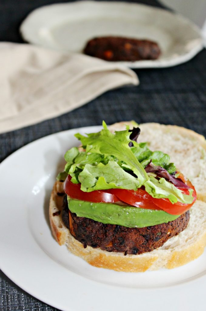 black bean burgers spicy simple and savory.com