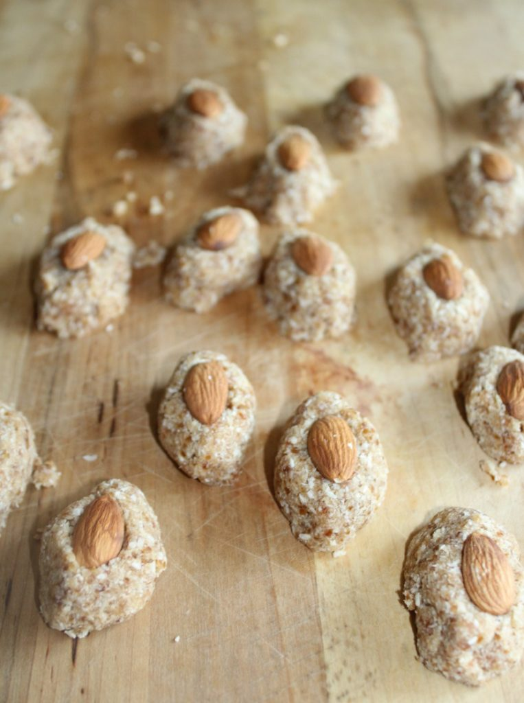 healthy almond joy bites simple and savory