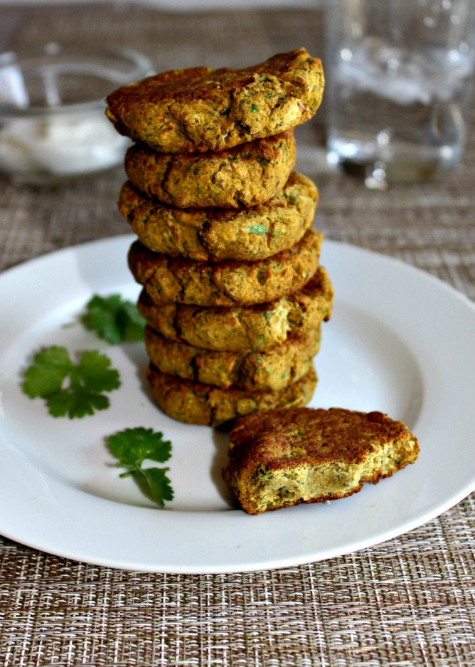 Baked Falafel Gluten Free and vegan Simple and savory.com