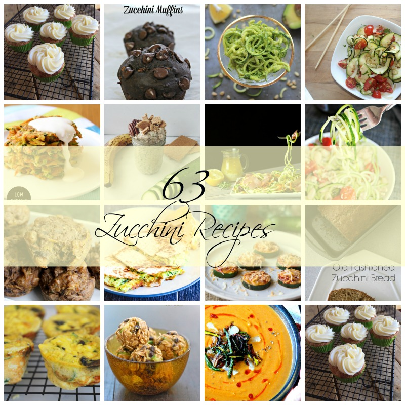 Zucchini recipes 63 Amazing zucchini recipes