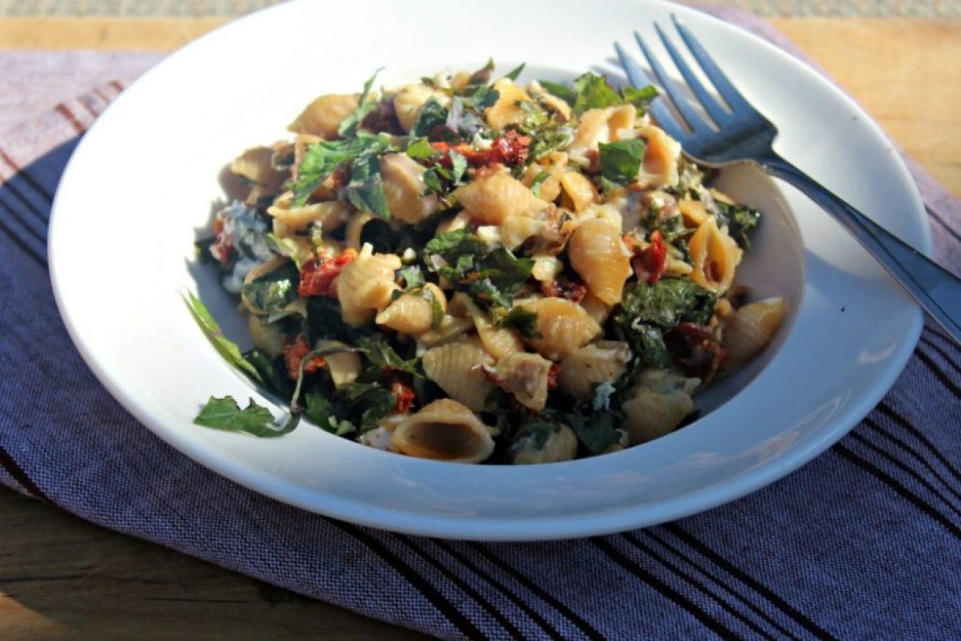 baked-pasta-with-kale-and-turkey-sausage-simpleandsavory-com