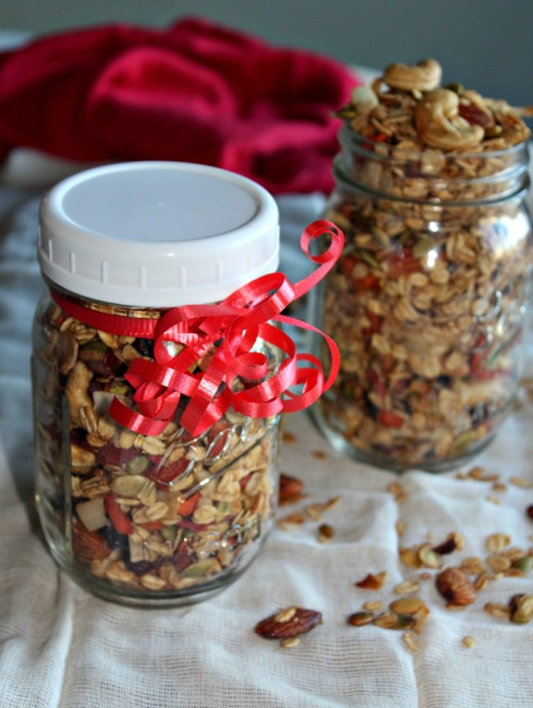 Cinnamon and Spice Granola #SundaySupper
