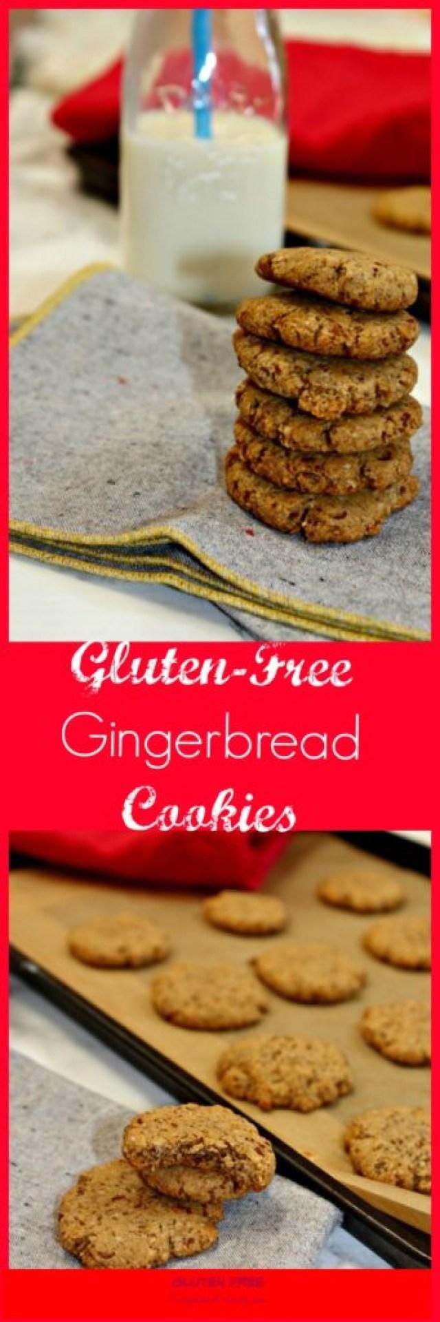 Gluten Free Gingerbread Cookies #ChristmasCookies - Simple ...