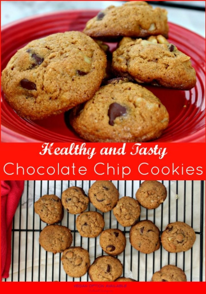 Healthy Chocolate Chip Cookie Recipe With Whole Wheat Flour