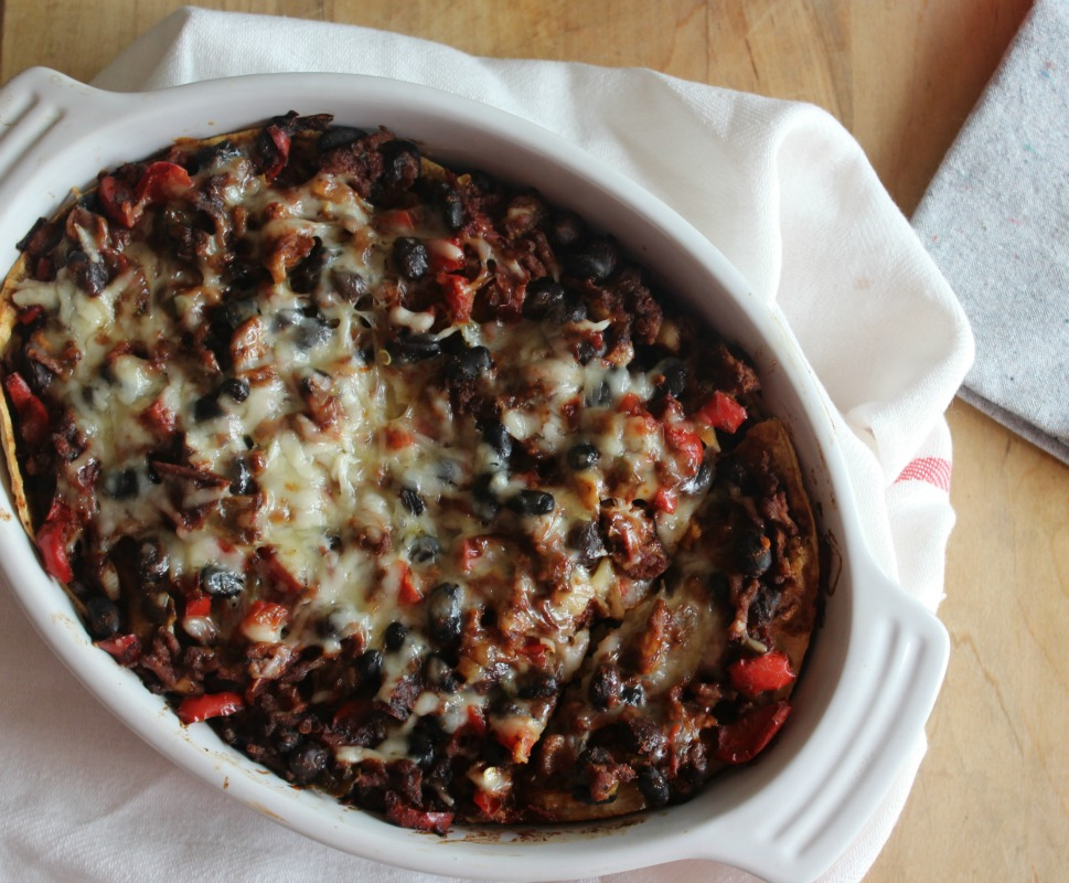 chicken and black bean casserole1