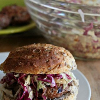 Spicy Pork Burgers gluten free less than 10 ingredients