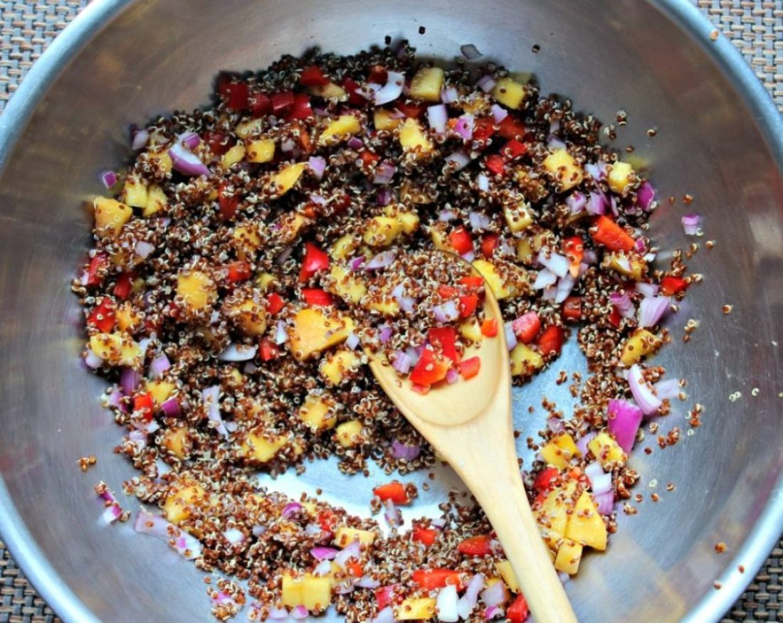 ummer quinoa salad ingredients gluten free vegan