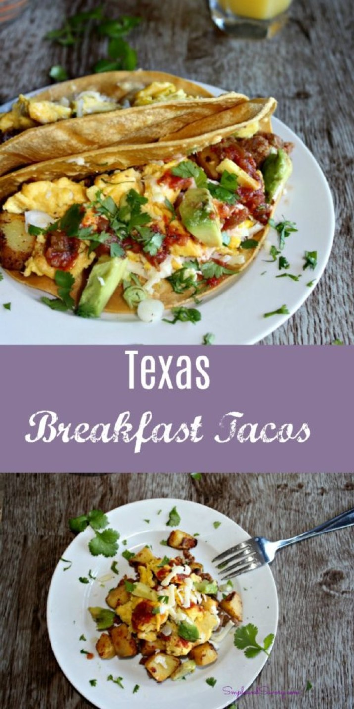 Texas Breakfast Tacos Simple and Savory.com