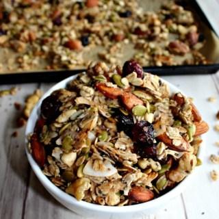 easy healthy homemade granola