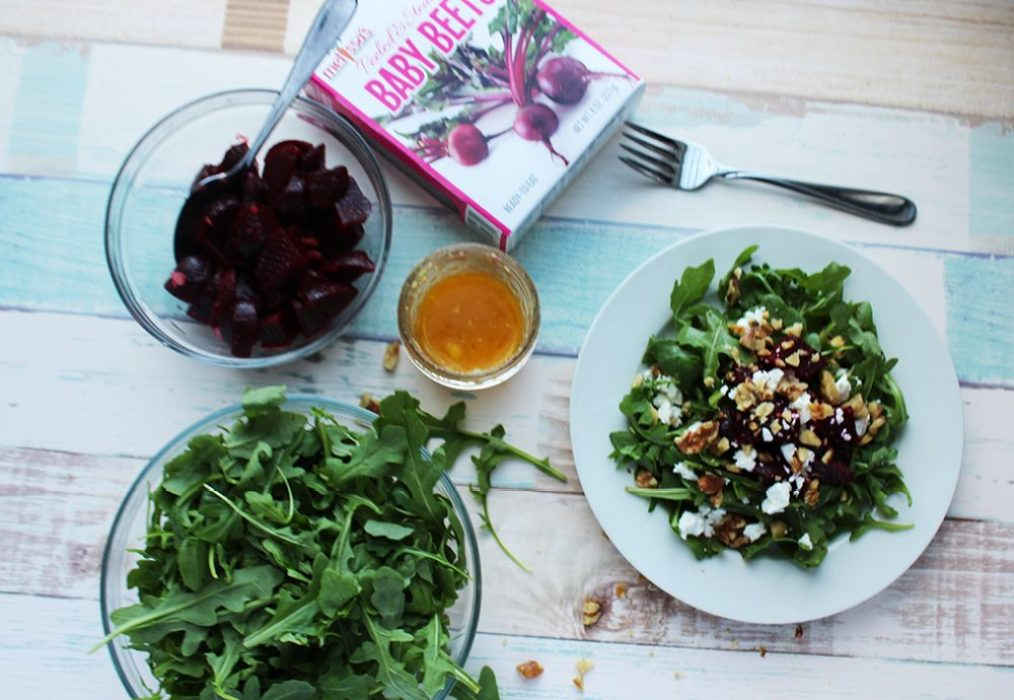 beet salad with citrus dressing