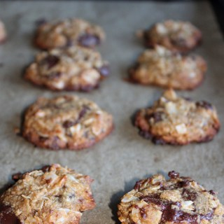 coconut chocolate chip cookies gluten-free