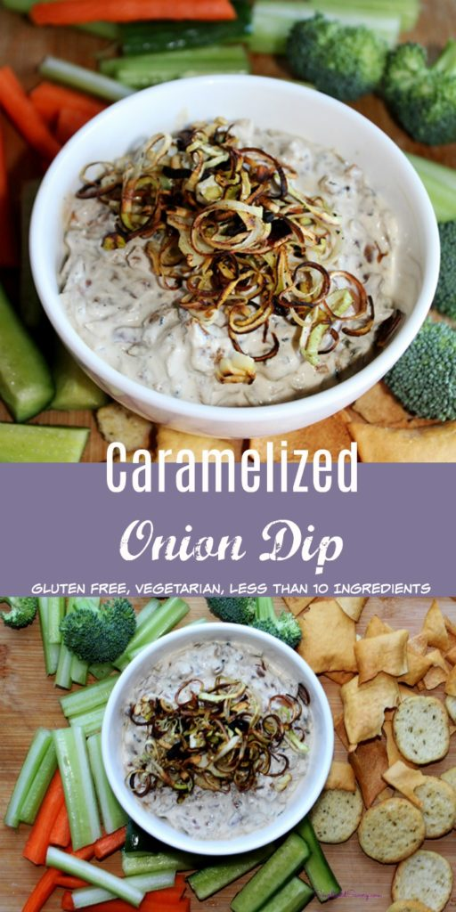 Caramelized Onion Dip gluten free simple ad savory.com