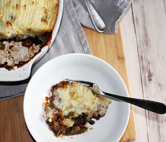 Vegetarian Shepherd's Pie Feat