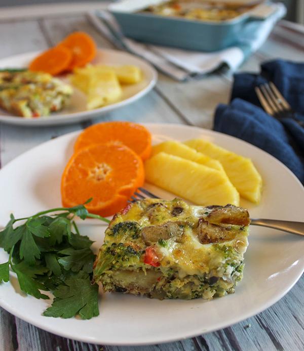 Vegetable Egg Breakfast Casserole: Vegetable Breakfast Casserole