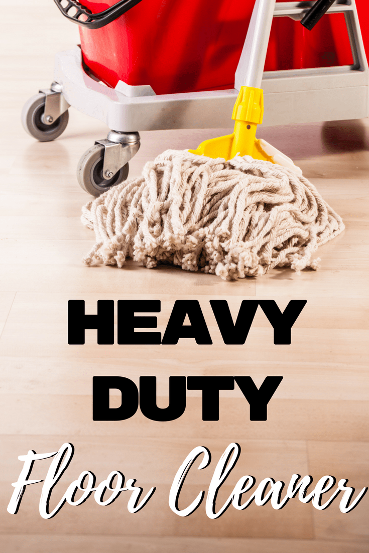 """Get those grimy floors clean with this heavy duty floor cleaner! It is perfect for getting rid of the """"boy bathroom"""" smell!"""