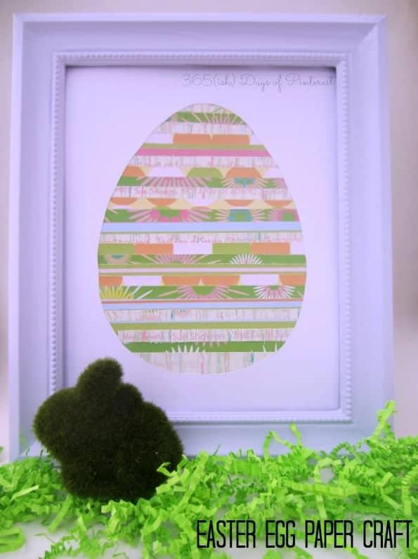Easter Egg Paper Craft