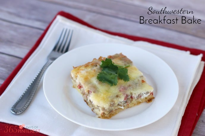 Southwestern Breakfast Bake