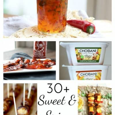 sweet and spicy foods