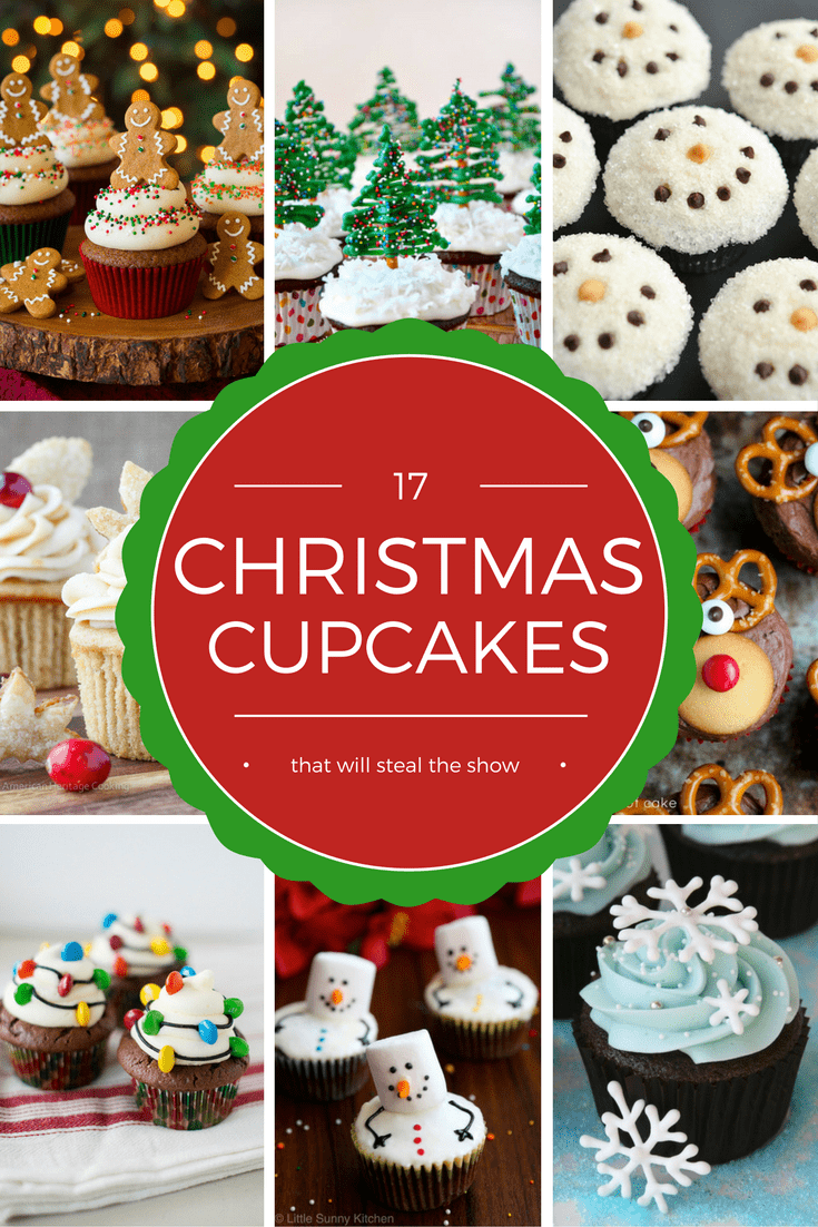 These adorable Christmas cupcakes are the perfect addition to any party table this season!  via @nmburk