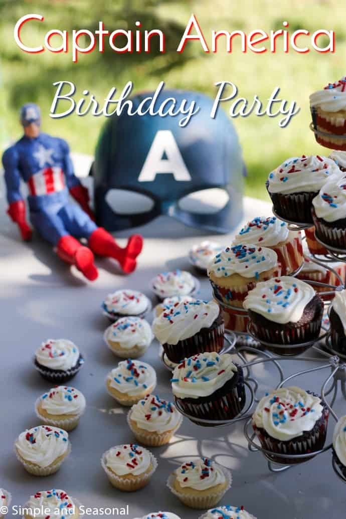 If your child's going to look up to a superhero, Captain America is probably the best one out there. Celebrate with a Captain America birthday party this year!