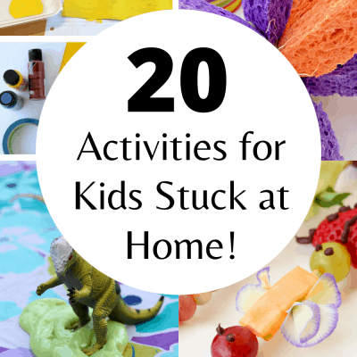 collage image of kids activities