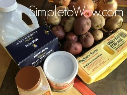 potato-kugel-ingredients