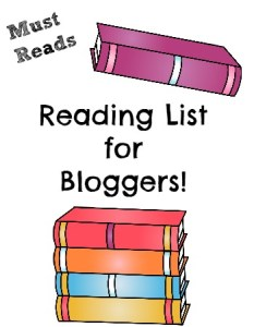 Reading list for bloggers