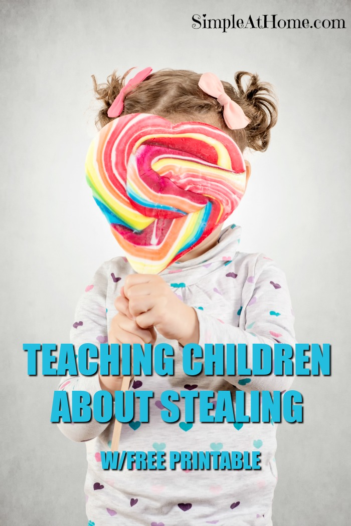 Need help teaching your child why they should not steal? This can help! - teaching kids about stealing