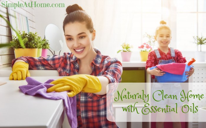 essential oils for a clean home