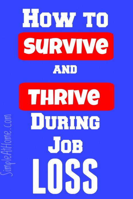 How to survive job loss