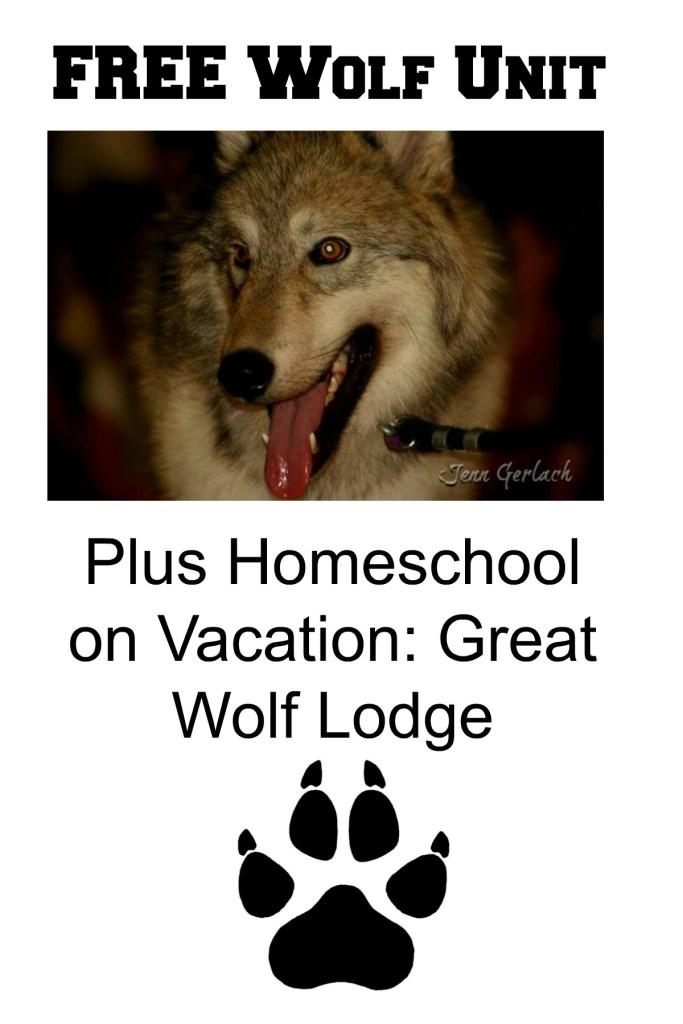 *Free* Wolf homeschool unit