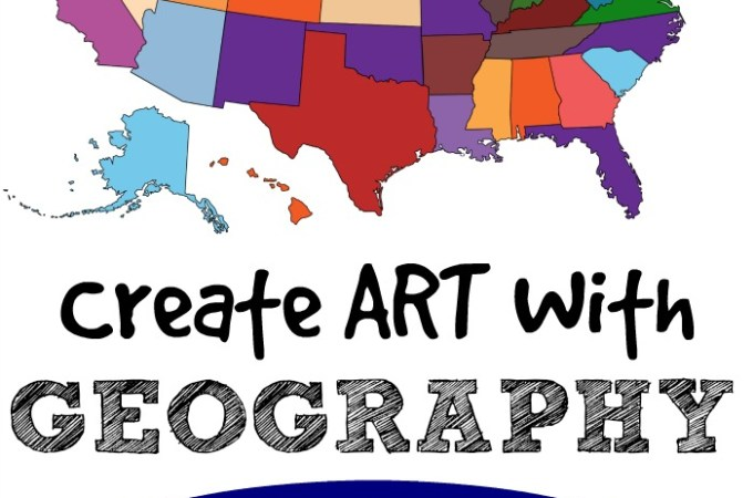 Turn Geography Into An Art Project
