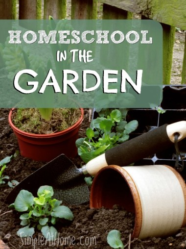 Homeschool in the garden