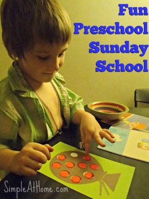 Looking for a simple Sunday School program for at home?