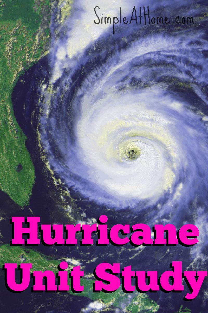 FREE hurricane unit study