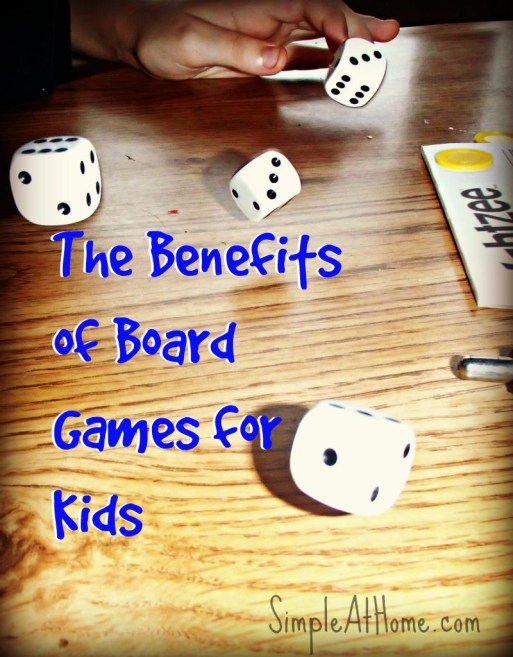 The Benefits of Board Games for Kids