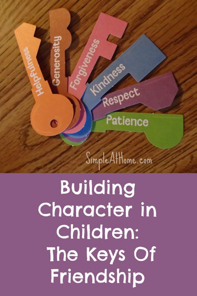 Learn basic how to help you child with these basic character traits.