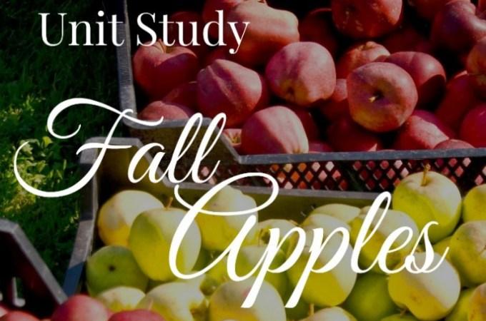 Apple Unit Study w/ Johnny Appleseed Printable