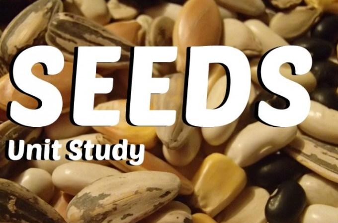 Seeds Unit Study