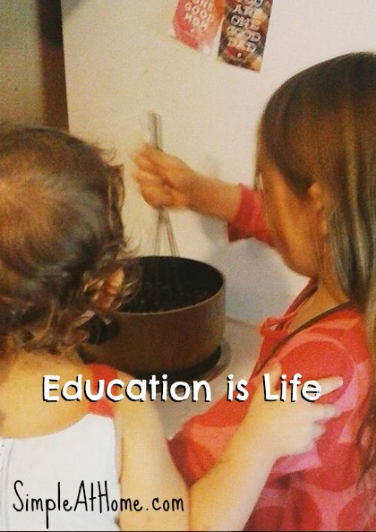 Learning through life provides a more memeable education.
