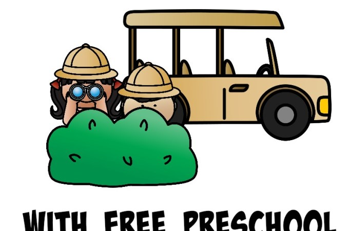 Going On A Safari Adventure Unit Study w/ Preschool Puzzles