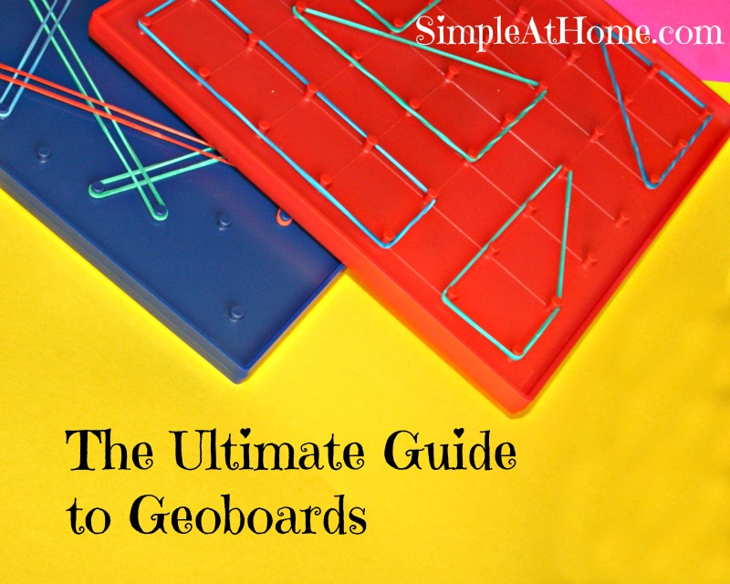 The Ultimate Guide to Geoboards