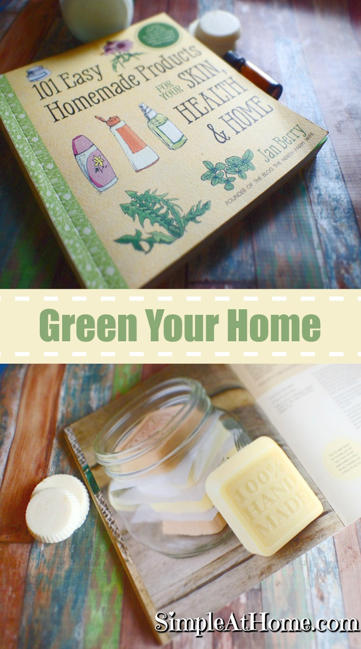 Easy homemade product recipies for everything from soap to cleaners, to doggy treat vitamins