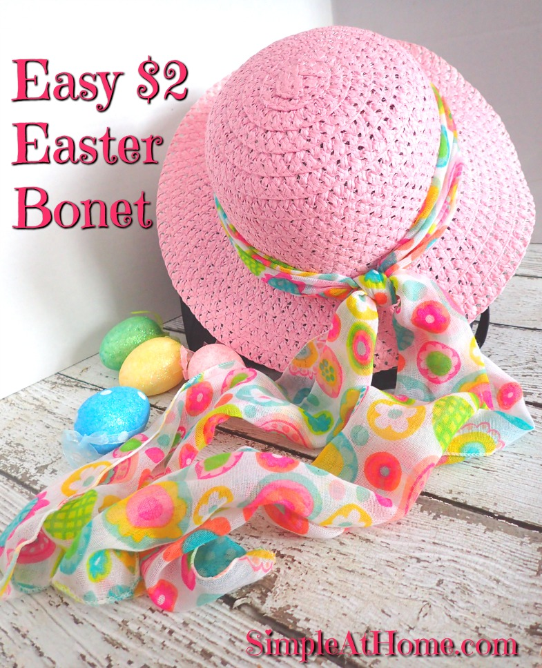easy cute Easter bonnet DIY